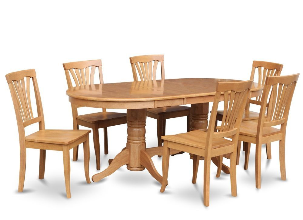 Oak Dining Room Table And Chairs - oak dining room set   Oak