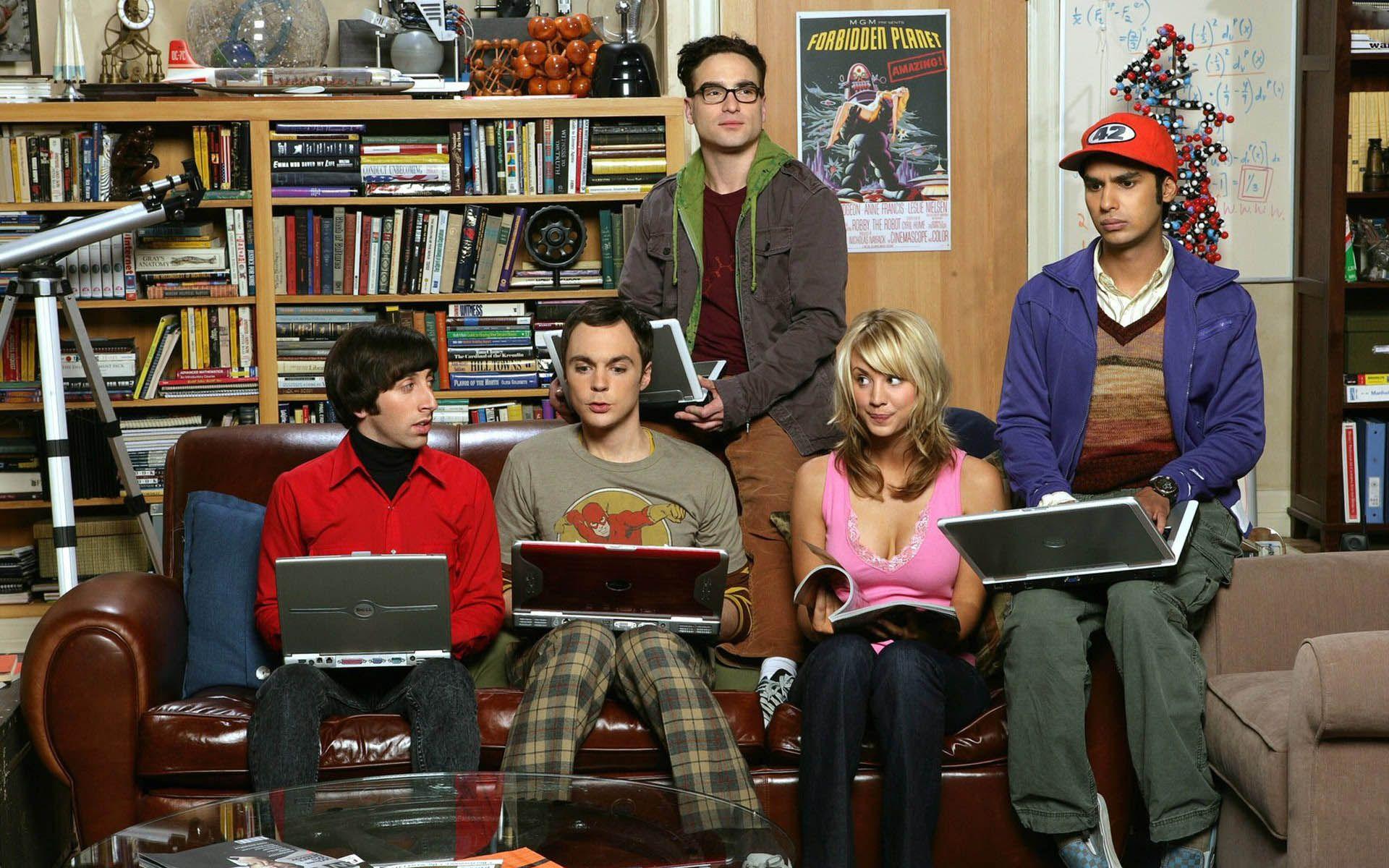 The Big Bang Theory HD Wallpaper