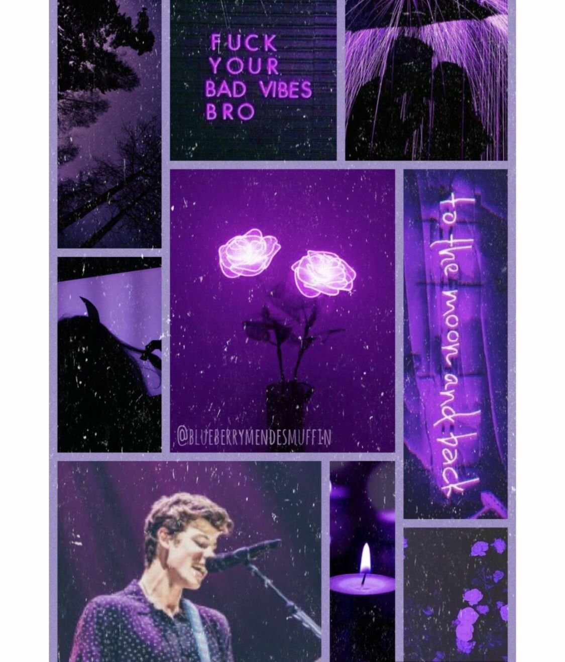 purple aesthetic, shawn mendes. instagram