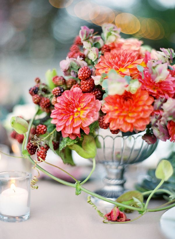 Photo: Jose Villa Floral Design: Chestnut & Vine Floral Design
