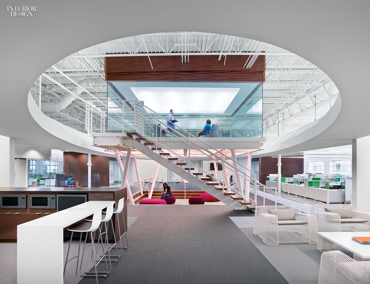 4 Technology Workplaces By A Web Of Gensler Offices Interior