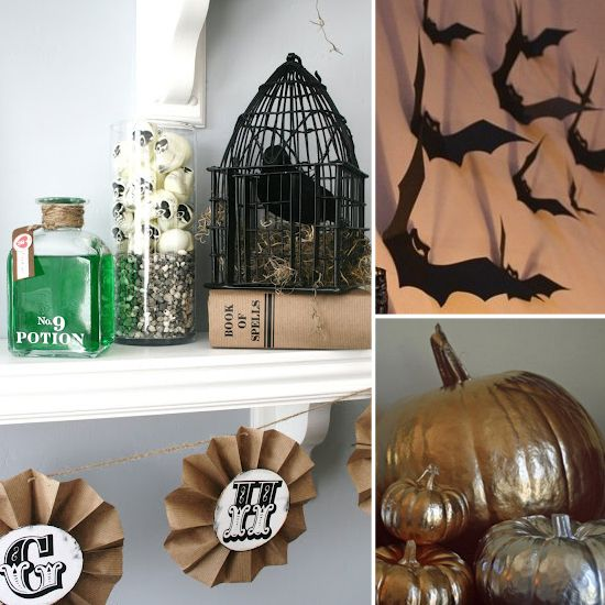 DIY This Stylishly Spooky Halloween Decor DIY Halloween and Spooky