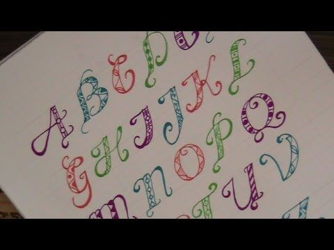 cursive fancy letters how to write fancy letters with pattern for beginners youtube