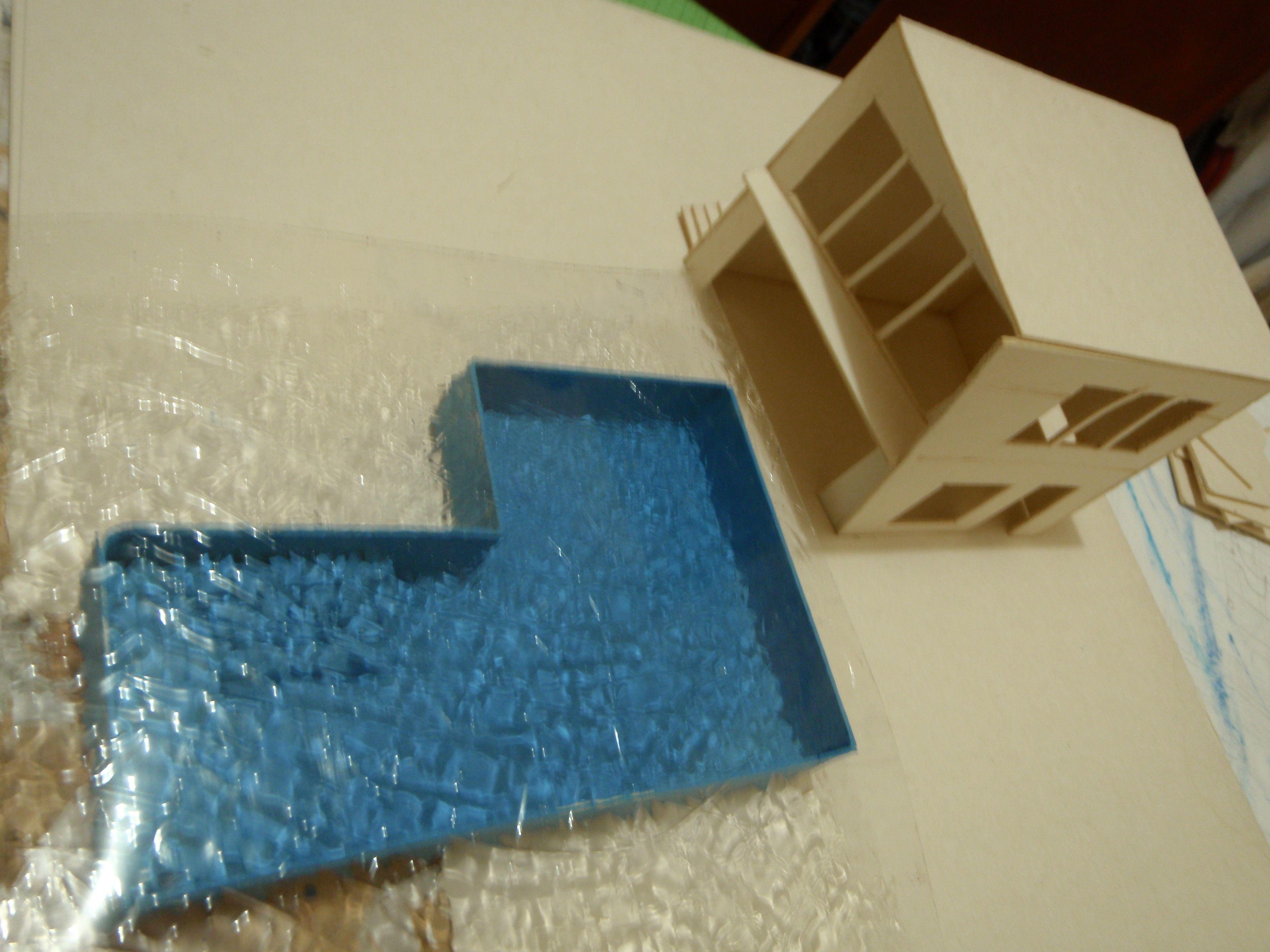 Maqueta alberca maquetas pinterest albercas - Materiales para hacer una piscina ...
