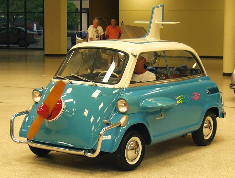 Dude Modified His 59 Bmw Isetta 300 The One With The Door In