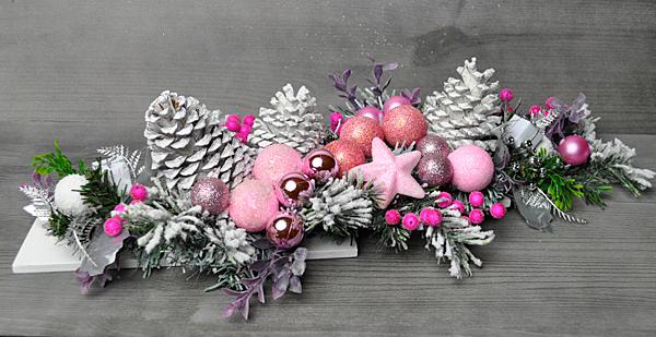 Stroik Bozenarodzeniowy Swiateczny Dekoracja Stol 6598345406 Oficjalne Archiwum Allegro Christmas Wreaths Christmas Decorations Halloween Templates