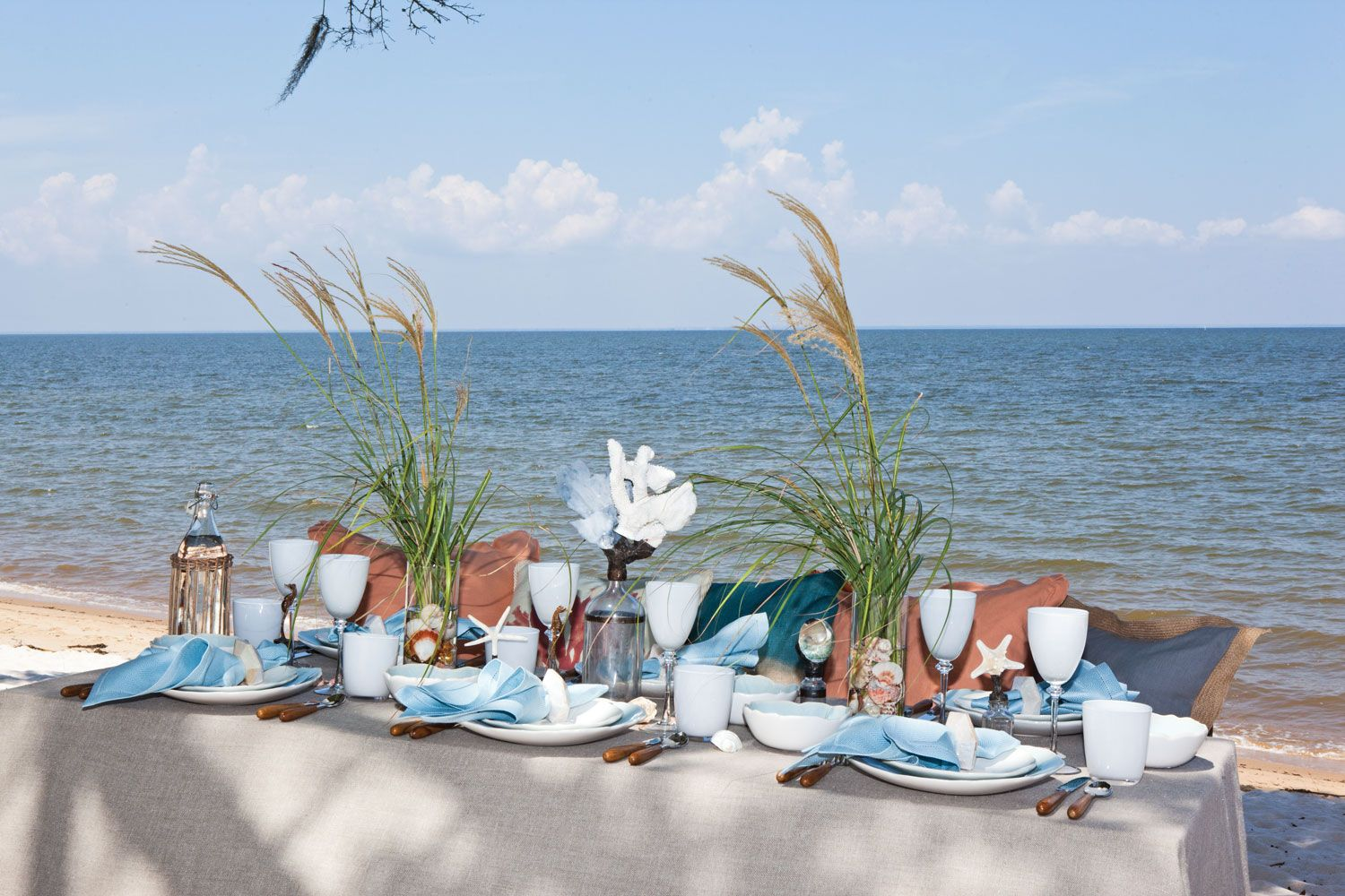 Tablescapes Inspired by the Sea