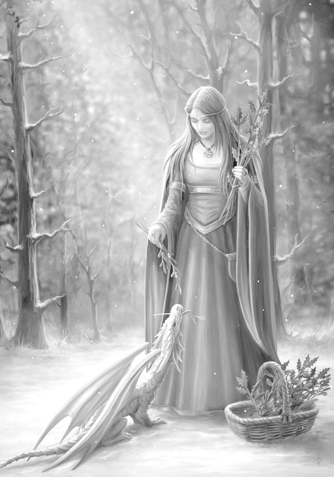 Pin about Fantasy art on greyscale coloring pages