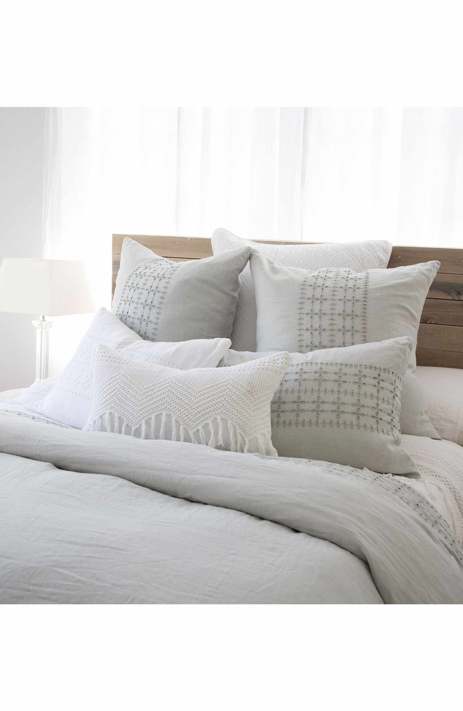 Pom Pom at Home 'Layla' Linen Duvet Cover Bedroom