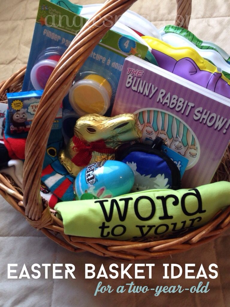 Easter basket ideas for a 2 year old easter pinterest basket easter basket ideas for a 2 year old negle Gallery