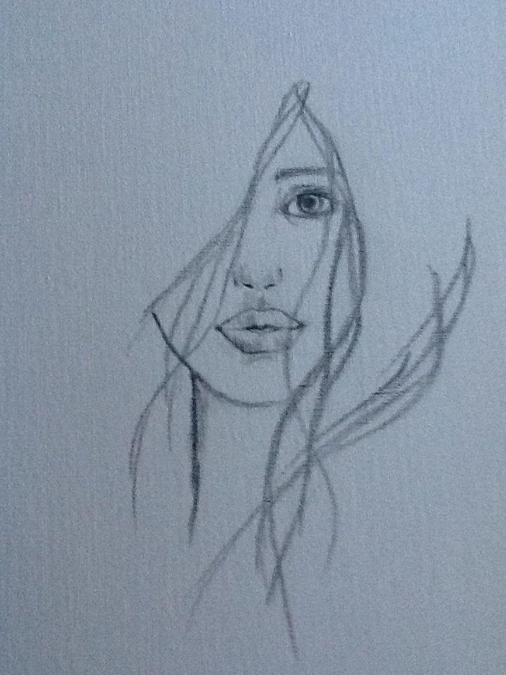 Simples Como Dibujar Una Persona Facil Para Niños Dibujo De Rostro A Carboncillo Por Karin Mengers 2012 Dibujos