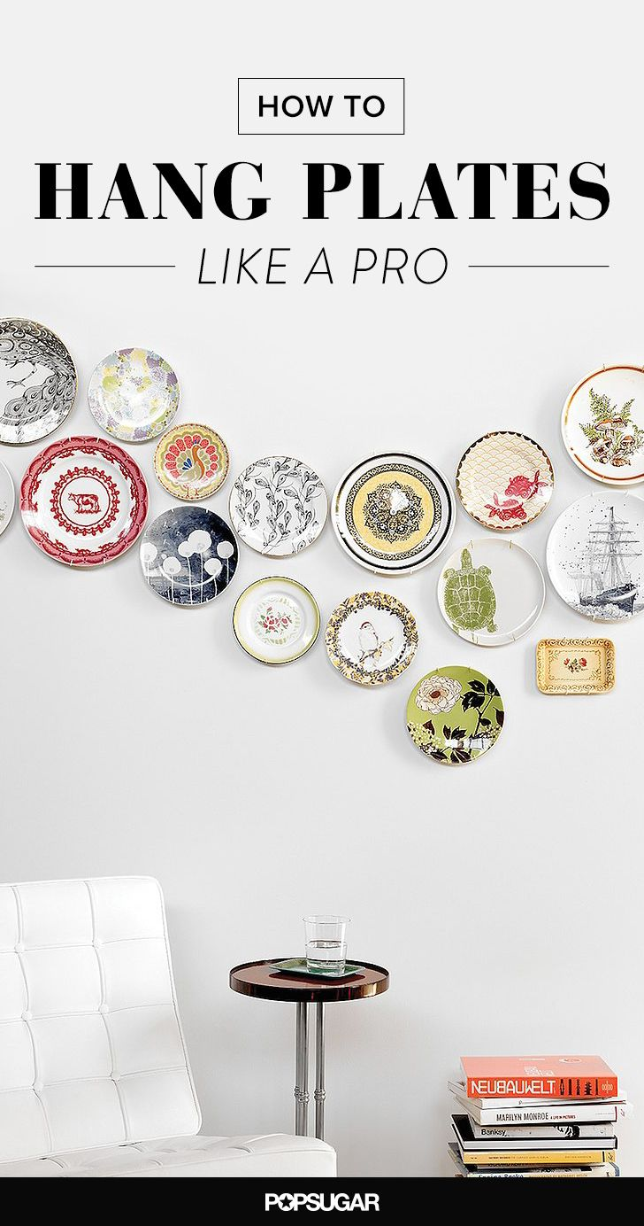 Large Decorative Plates For Display How To Hang Plates Like A Pro  Walls Plate Wall And Decorating