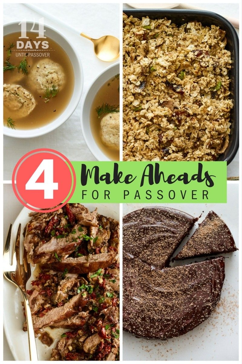 14 days until passover: make ahead and freeze this passover menu