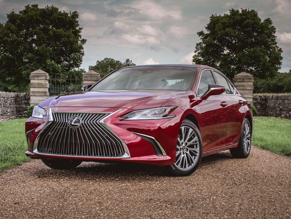 15++ 2019 lexus es hybrid 4k