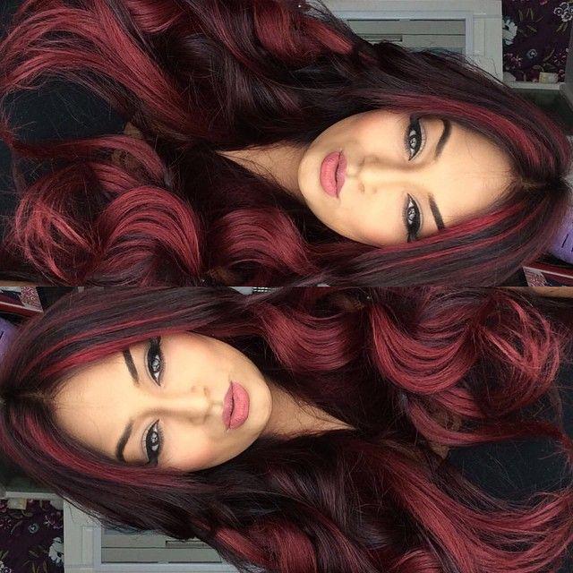 99j Red Hair Dark Red