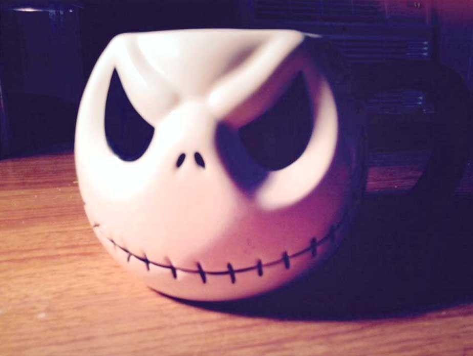 Jack Skellington Mug #nightmarebeforechristmas #jackskellington #mug #popculture