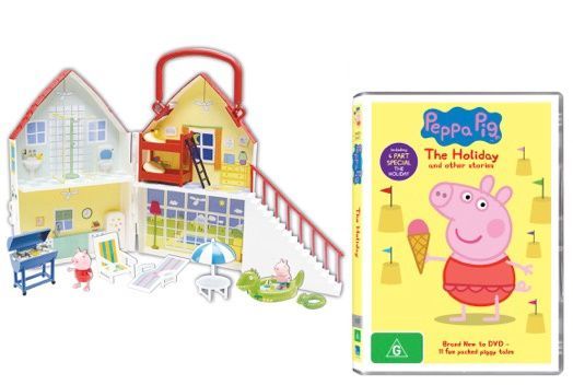 Peppa Pig Holiday Dvd Amp Toy Review Free Printables Win