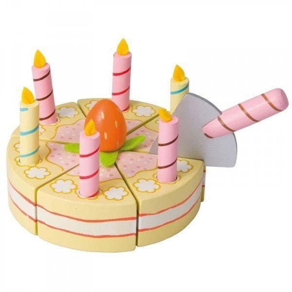 juguetes de madera pastel de cumpleaos este juguete de madera es un autntico pastel