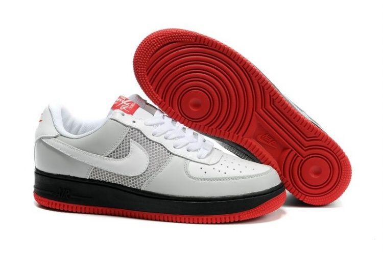 Nike Air Force 1 25th Low Schuhe Herren Schwarz Gelb Priting