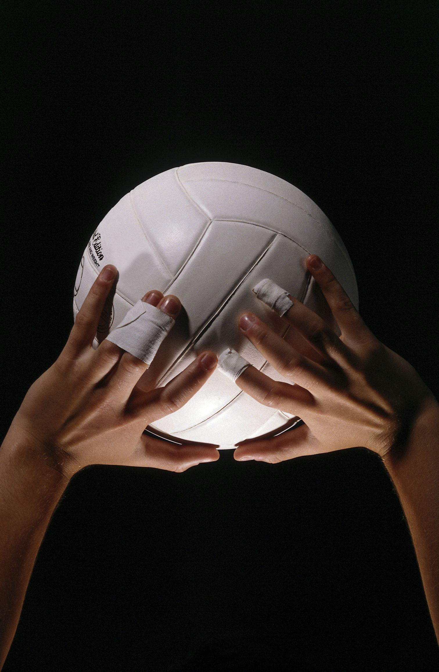 The Best Way To Tape Your Fingers For Volleyball Volleyball Setter Volleyball Volleyball Photography