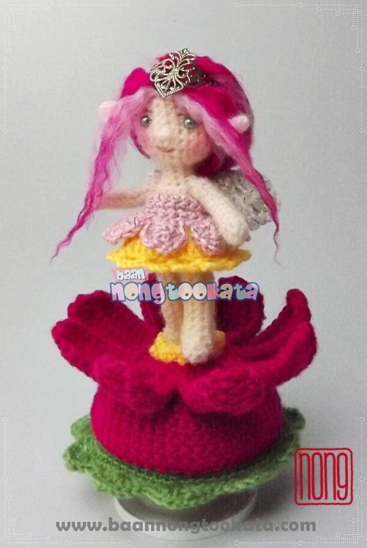 Cosmos Flower fairy music box | Crochet,Cute Doll,Amigurumi,Crafts ...