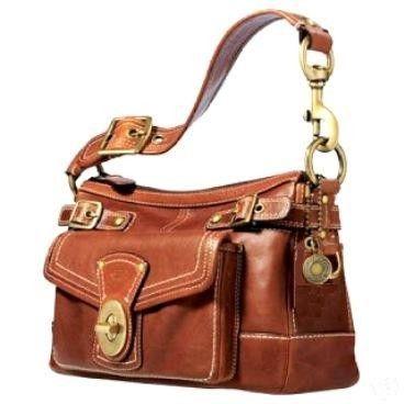 Coach Legacy Whiskey Ltd Ed Rare Anniversary Bag Purse Handbag 11127