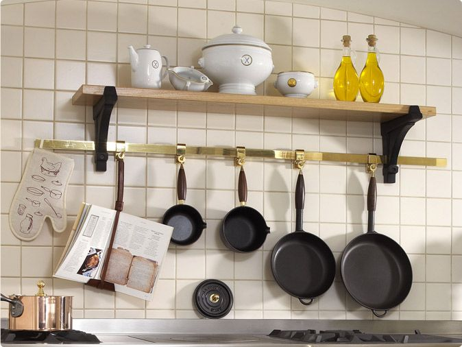 Pot Racks U0026 Shelves | La Cornue