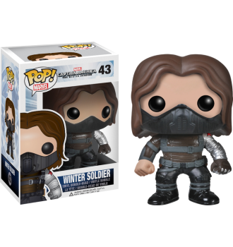 Captain America - The Winter Soldier - Winter Soldier Unmasked Pop! Vinyl Bobble Head Figure