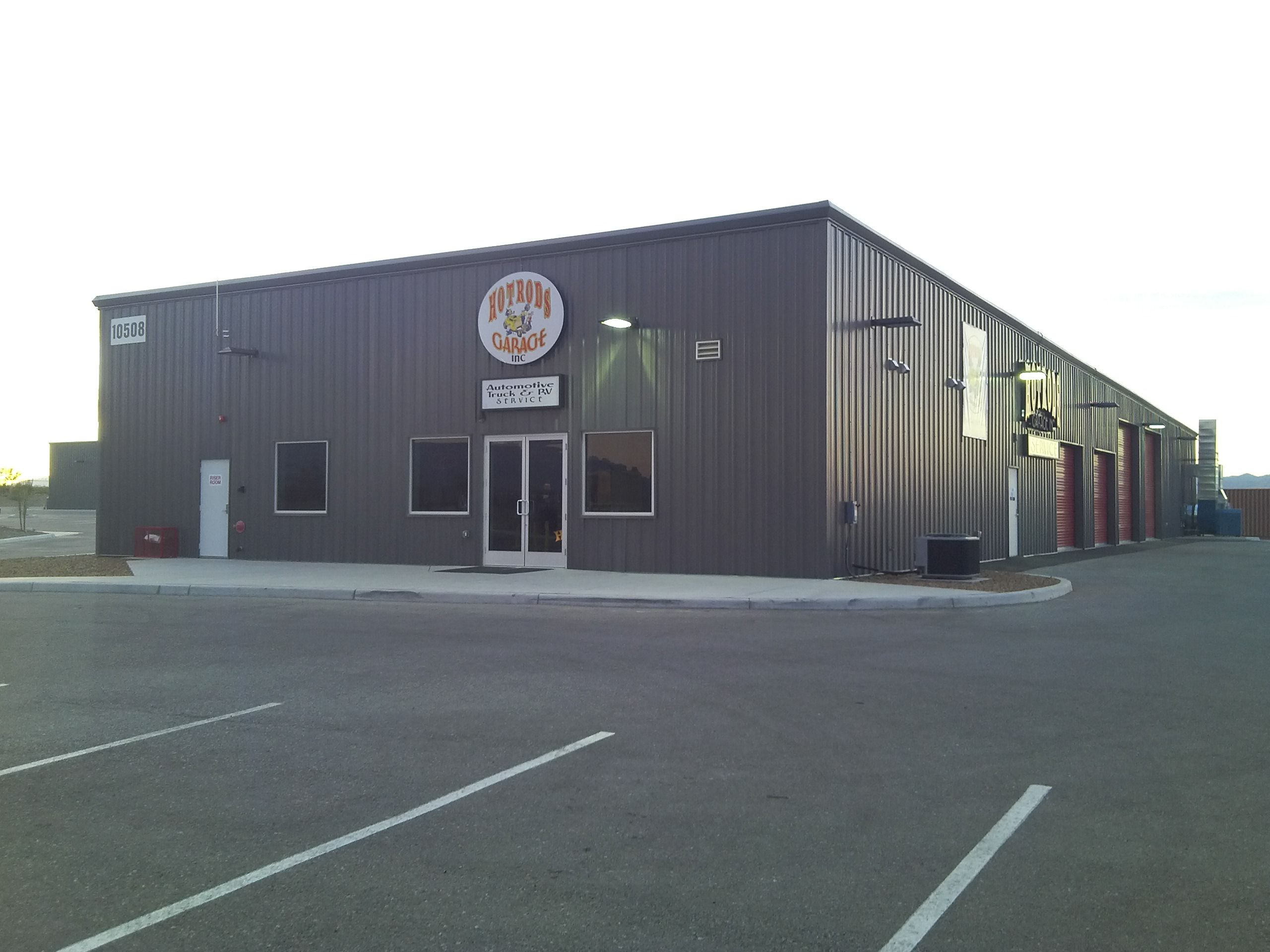 Cruzin corners a 13 134 square foot warehouse office for Metal building office plans