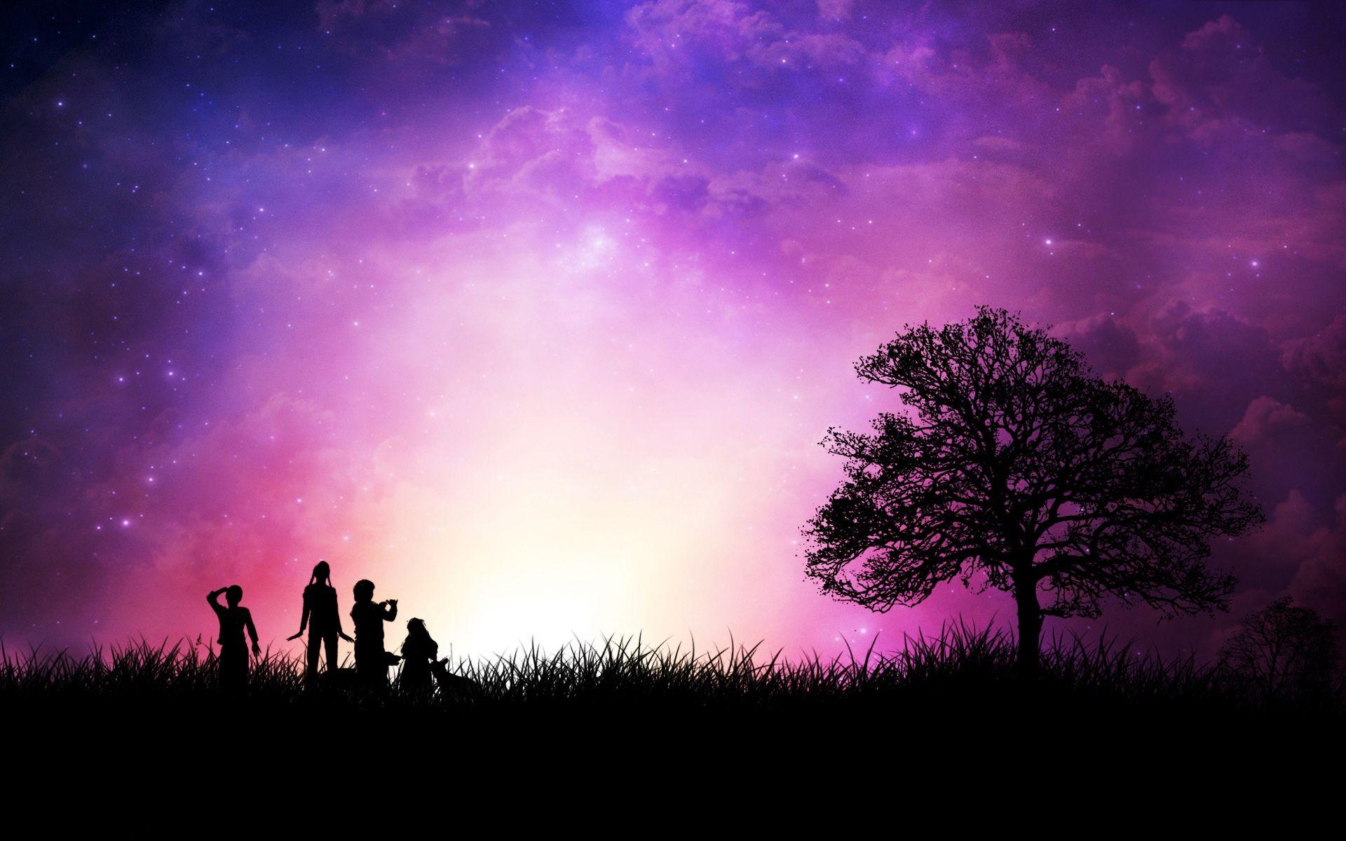 Chilling Purple Sunset Purple Background Images Sunset Wallpaper Background Images