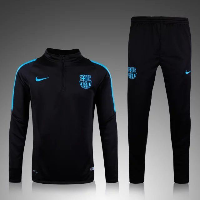 Barcelona 2015 2016 Black Men Tracksuit Item Specifics - Brand  Nike -  Gender… Más cfc80a9b3