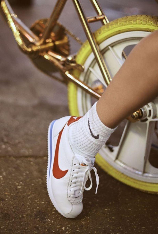 Nike Classic Cortez Sneaker Aesthetic Shoes Classic Cortez 90s Shoes