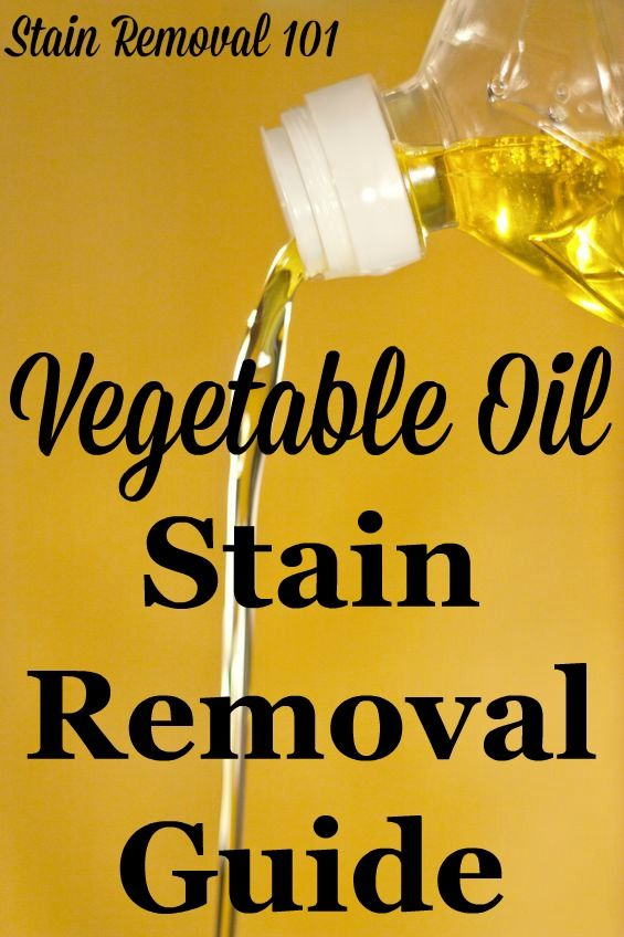 How To Get Rid Of Cooking Oil Stains On Clothes