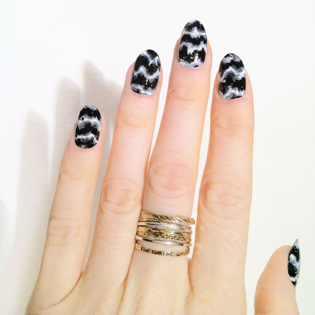 Nail Art Video Download Mp4: MADELINE POOLE - Tiger Marble....amaze!