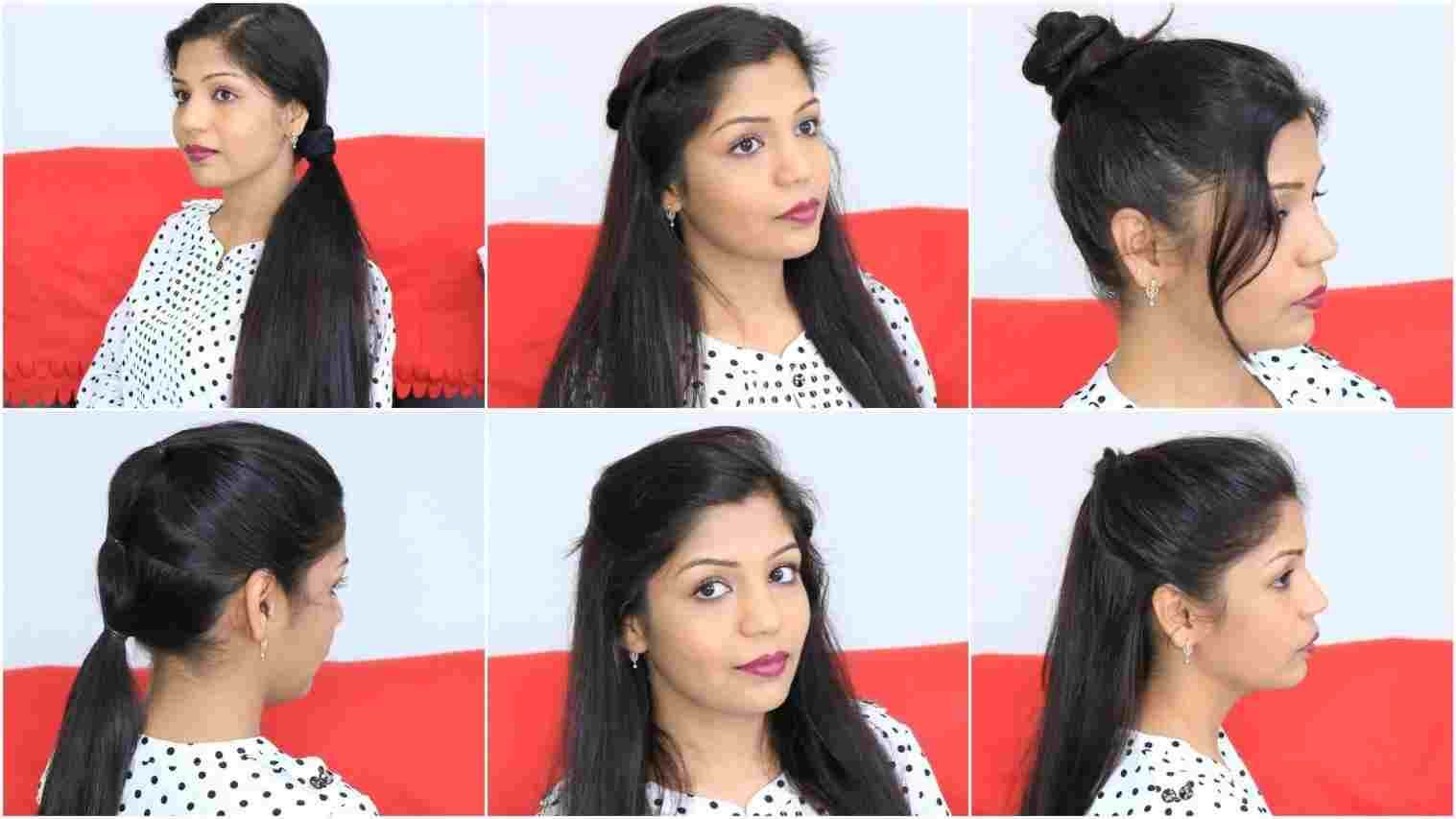 simple hairstyles for indian girls | hair style in 2019