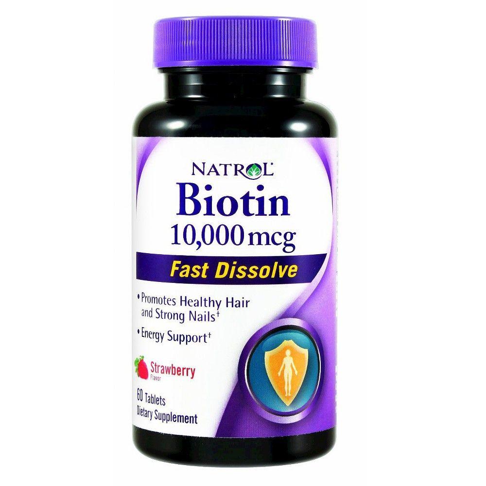 Natrol Biotin 10,000mcg Fast Dissolve Tablets - 60 Count