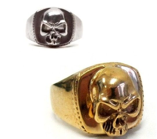 skulls rings jewellery keith richards sons of anarchy ...