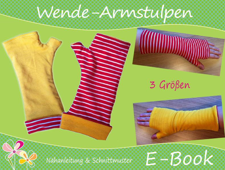 Photo of E-book ♥ sewing instructions arm warmers for turning ♥ beautiful cut ♥ on DaWandafrom …