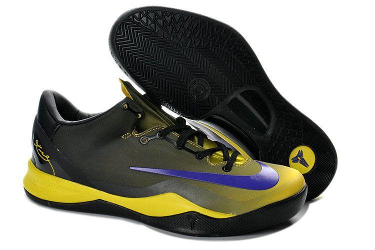 huge discount 87b2b 43380 Cheapest 2018 Nike Kobe 8 System MC Black Street Grey Vivid Sulfer Photo  Blue 615315 163