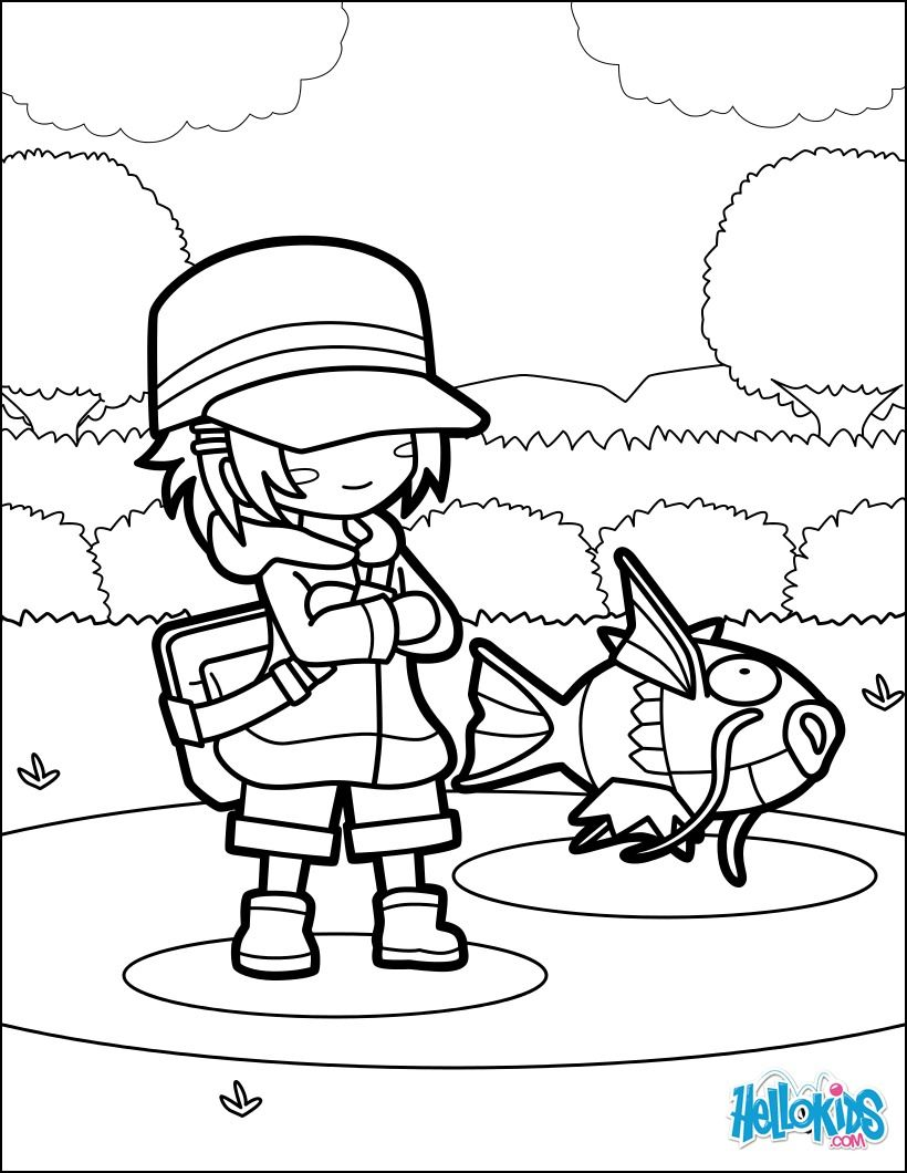 Discover this beautiful Pokemon Magikarp Jump coloring page. More ...