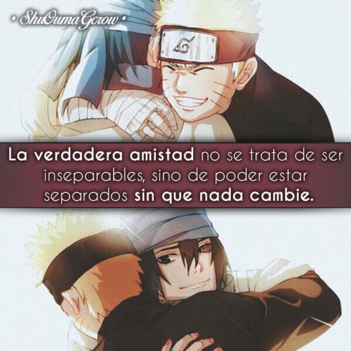 Anime Frases Anime Frases Sentimientos ShuOumaGcrow Naruto
