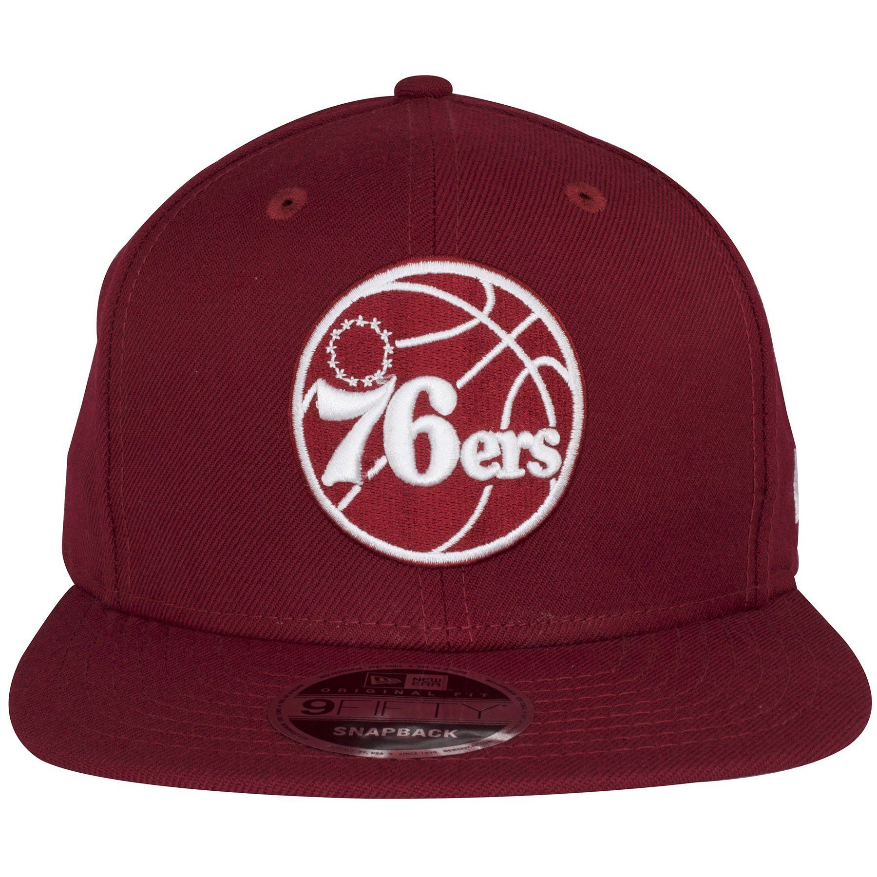 69725aa156516d We brought in this awesome custom piece, a Philadelphia 76ers snapback hat  in the Cooperstown Phillies maroon and white colorway!