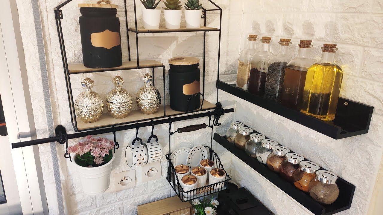 برفوف ومنظمات ب 30 درهم ترتيب راقي للمطبخ صغير المساحة Home Decor Furniture Home