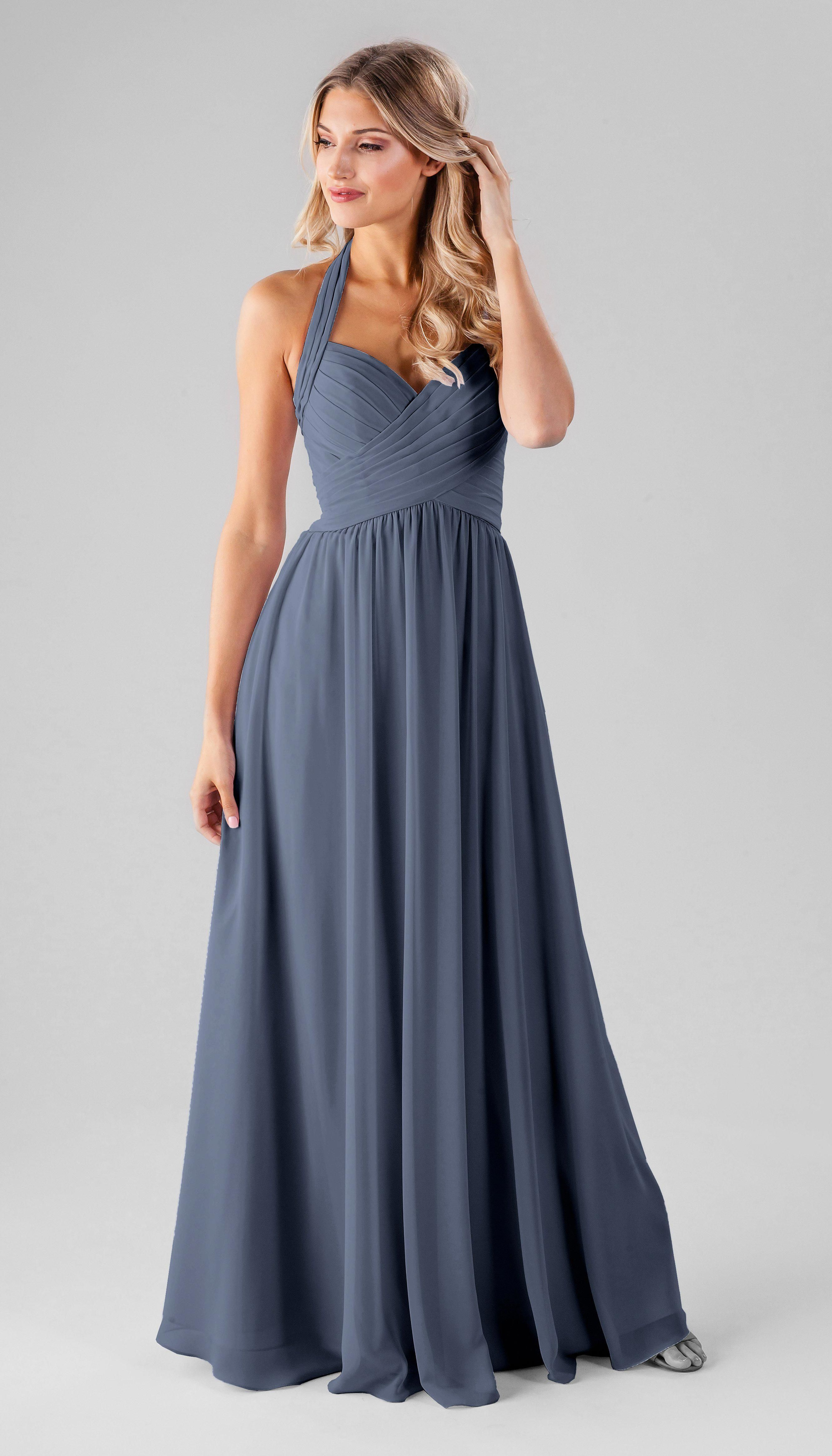 b238d557d0bf Kennedy Blue Ginger Bridesmaid Dress Color  Storm  bridesmaidsdresses