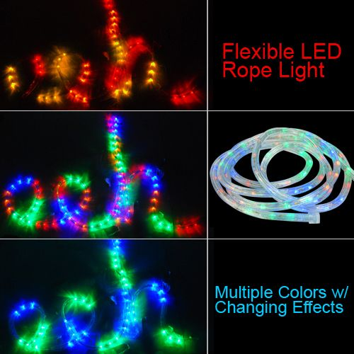 Color Changing Rope Lights Fair Led Changing Rope Light Senory  Ledropelightcolorchanging Decorating Design