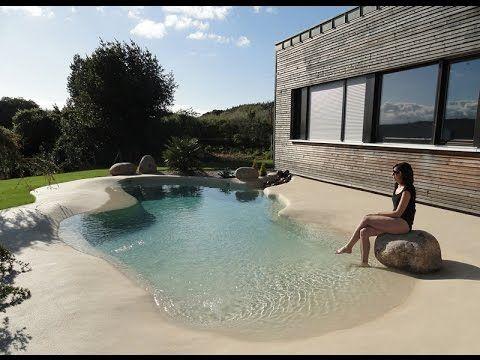 diseño 3d para la construcción de una piscina de arena modelo
