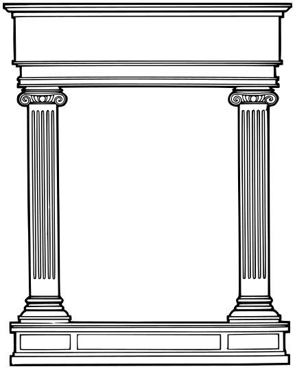 Image From Http Www Wpclipart Com Buildings Architecture Column Column 2 Roman Columns Png Colonne Grecque Architecture Colonnes