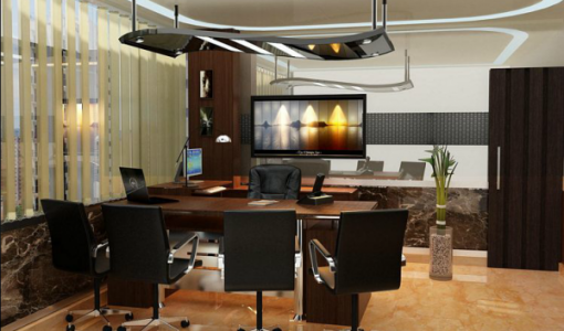 Elegance director room interior design for office Amazing director
