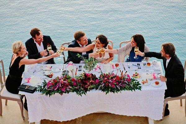 Ρομαντικος γαμος με χρωμα στην Κεα | Ελινα & Τζον  See more on Love4Weddings  http://www.love4weddings.gr/romantic-colorful-wedding-in-kea/