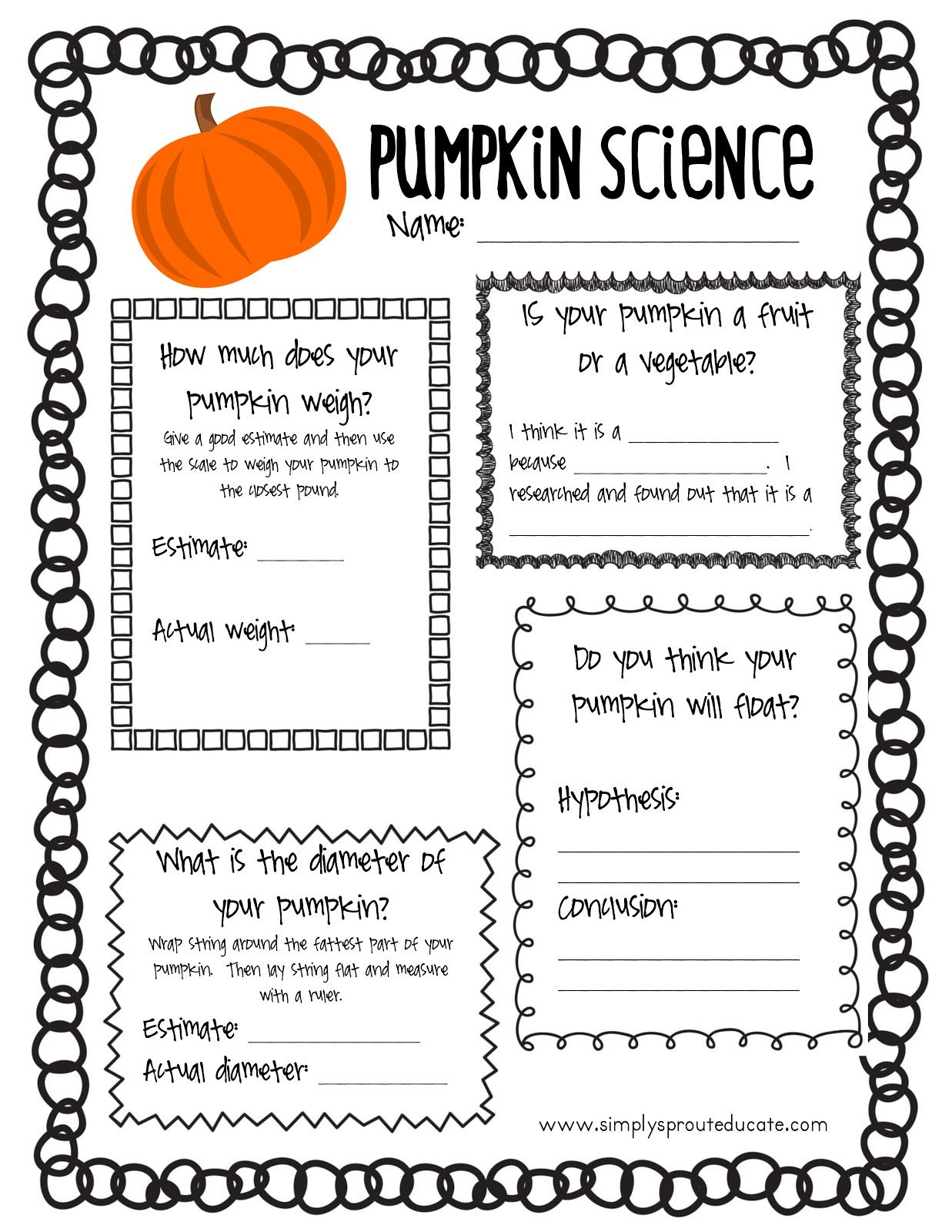 worksheet Parts Of A Pumpkin Worksheet 1000 images about pumpkin fiesta story on pinterest pumpkins life cycles and science experiments
